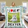 """I love My Pet"" Customized Blanket"