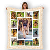 Picture Fleece Blanket For Dogs
