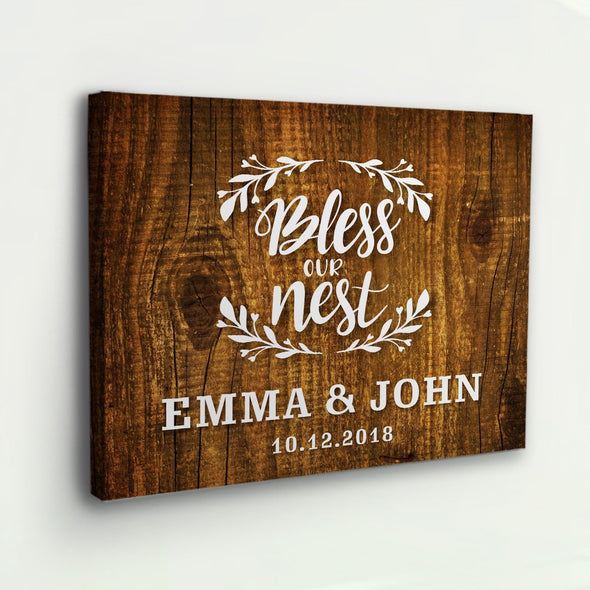 Bless Our Nest Wooden Wall Decor