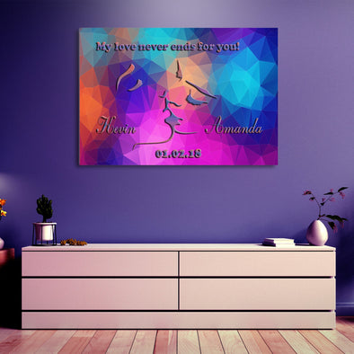 Custom Love Each Other Canvas