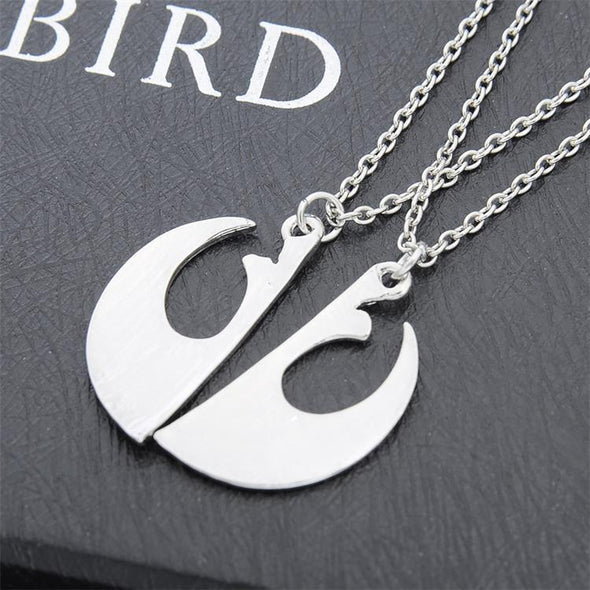 I Know  I Love You Couple Necklace