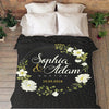 PERSONALIZED BLANKET FOR COUPLES