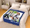Personalized Blanket - Lovely Couple With Your Photo