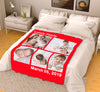 Personalized Blanket - Lovely Family With Your Photo
