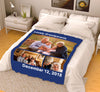 Personalized Blanket - Lovely Grandparents With Your Photo
