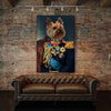 The Noble - Personalized Canvas For Pet