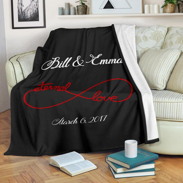 Eternal Love Couples Blanket