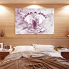 """The Symbol Of Love"" Customized Wall Decor"