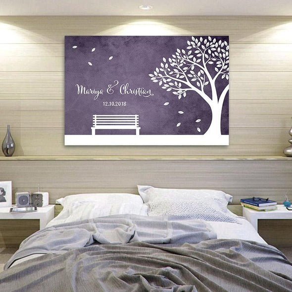 Custom Personalized Couple Wall Art