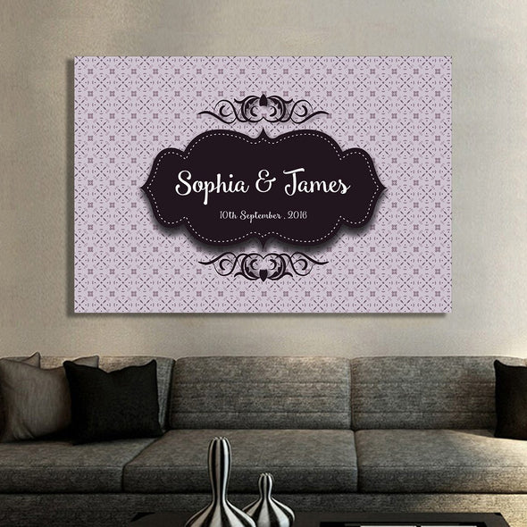 Custom Wall Decor For Couple