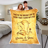 """You Are My Beauty"" Premium Personalized Blanket"