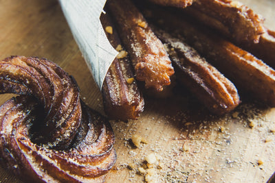 Recipe - Oats Churros with Whey Protein Powder