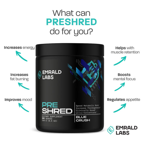 Emrald Labs Pre Shred facts