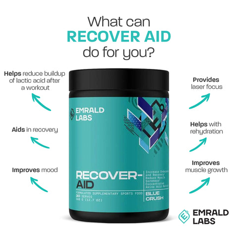 Emrald Labs Recover Aid Facts