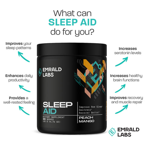 Emrald Labs Sleep Aid Facts