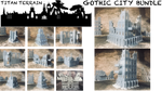 Gothic City Large Bundle - 8mm Scale