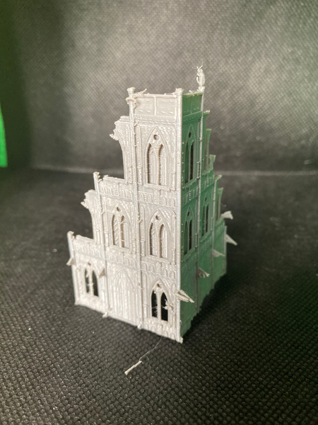 CLEARANCE - 3 Level Gothic Ruins - 8mm Scale