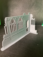 CLEARANCE - Small Church Entrance Ruin - 8mm Scale