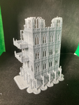 CLEARANCE - 6 Level Gothic Skyscraper Ruins - 8mm Scale