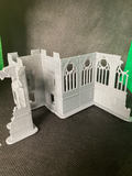 CLEARANCE - Medium Church Entrance Ruin - 8mm Scale
