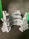CLEARANCE - 4 Level Large Gothic Building Ruins - 8mm Scale