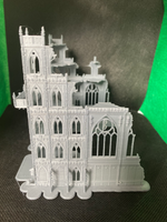 CLEARANCE - Gothic Cathedral Ruins - 8mm Scale