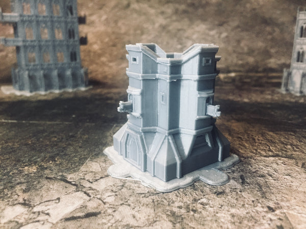 Hexagonal Bulwark - 8mm Scale