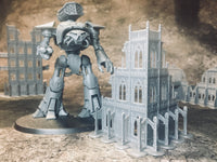 3 Level Gothic Ruins - 8mm Scale