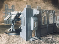 Small Church Entrance Ruin - 8mm Scale