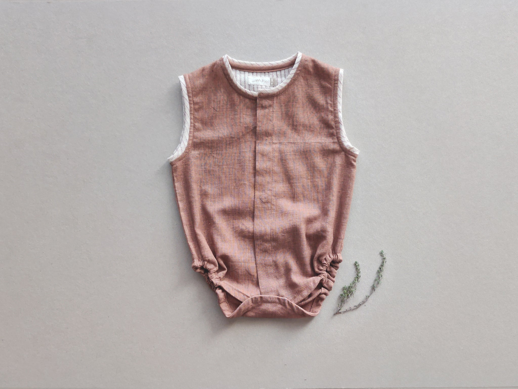 Organic & Natural Dye - Summer Baby Onesie Set - Newborn Baby Homecoming Gift Bundle - Set of 2