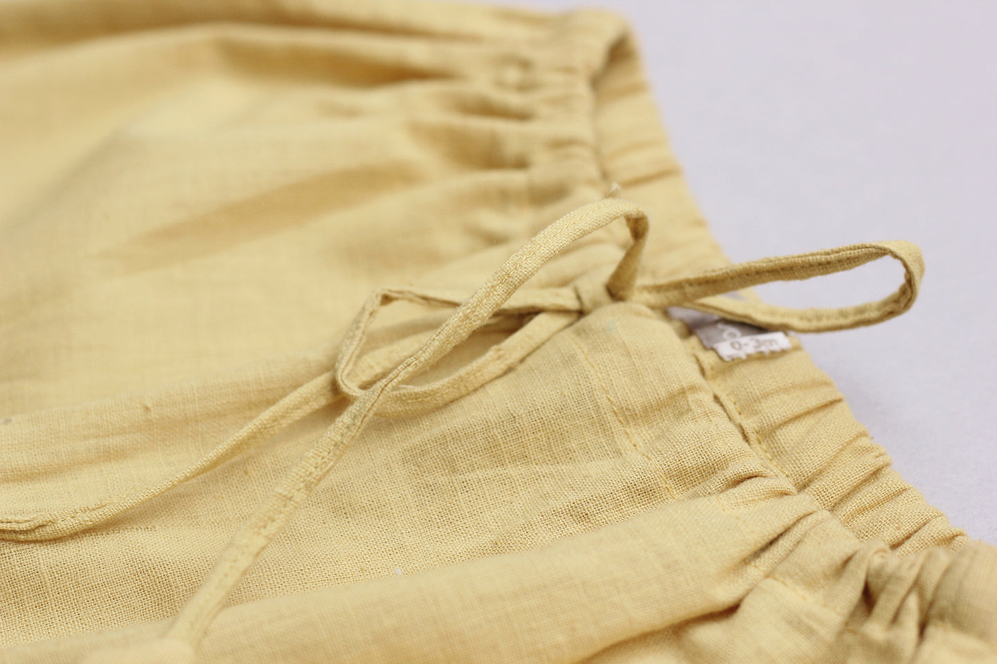 Sunshine Yellow Khadi Pants