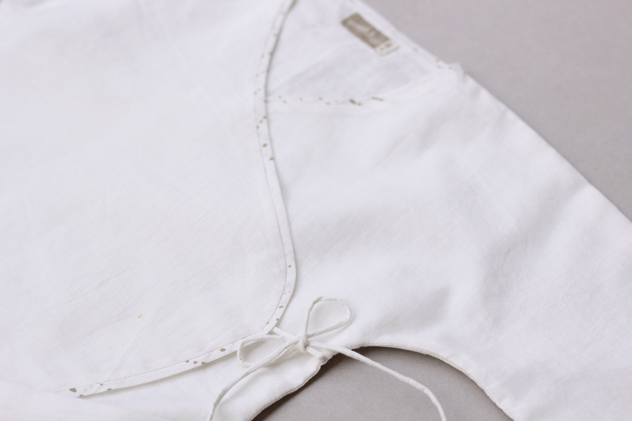 Milky White New-born Romper
