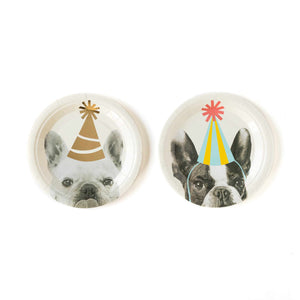 "Party Animal Dog 7"" Plates"