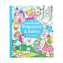 Load image into Gallery viewer, Princess & Fairies Coloring Book