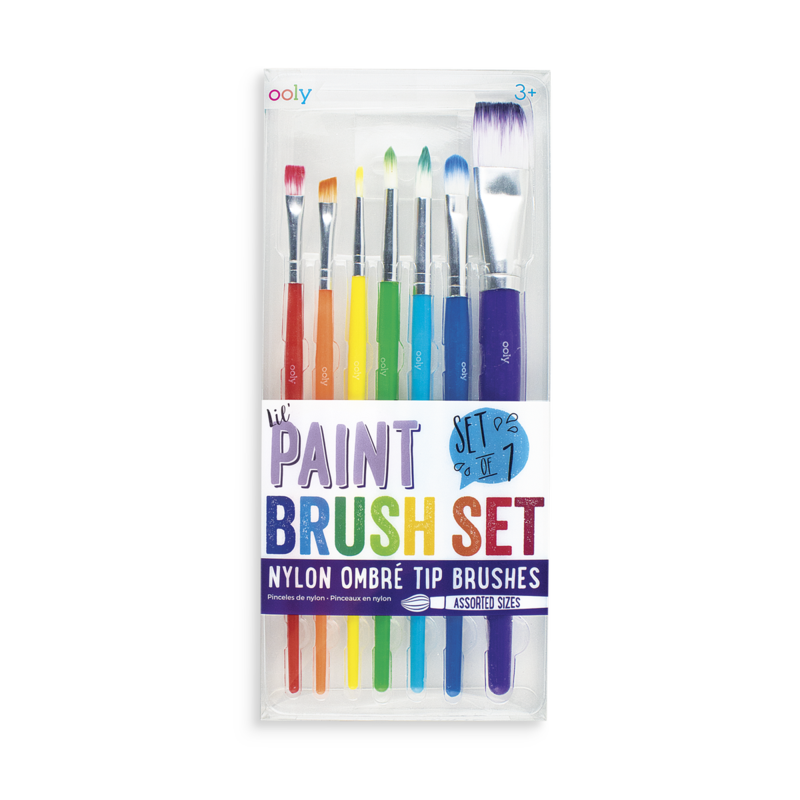 Lil' Paint Brush Set