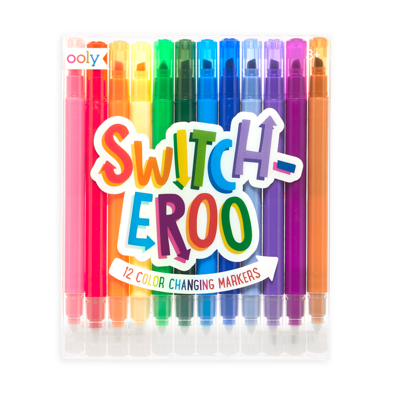 Switch-eroo! Color Changing Markers (Set of 12)