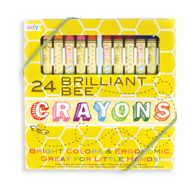 Brilliant Bee Crayons (24pc)