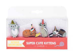 Super Cute Kitten Candles