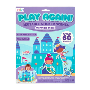 Play Again! Reusable Sticker Scenes