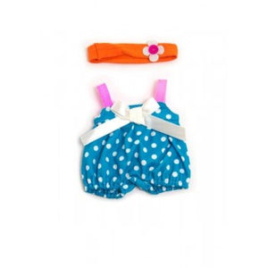 "Polka Dot Jumper Set - Clothes for 8 1/4"" Dolls"