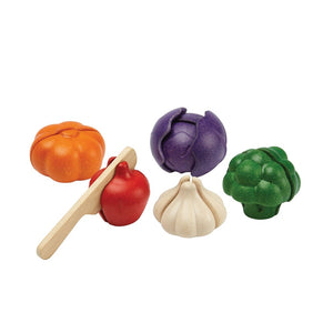 5 Colors Veggie Set