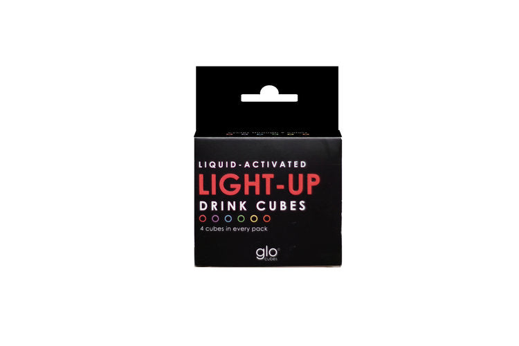 Glo Liquid-activated cubes (4-pack)