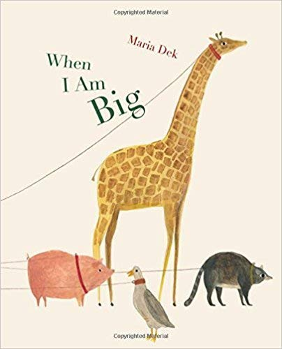 When I Am Big - A counting book from 1 to 25