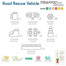 Load image into Gallery viewer, Traffic series - Road Rescue Vehicle