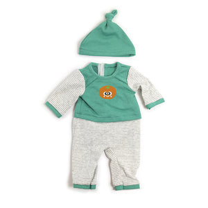"GREEN PJS for 15"" & 15¾"" DOLLS"