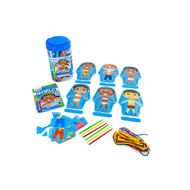 FLEXI WORLD KIDS LACING OR SEWING SET