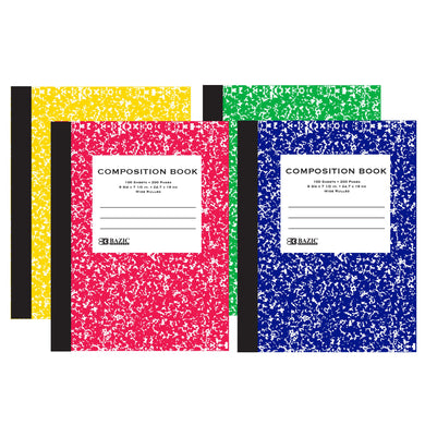 Wide Rule Composition Book