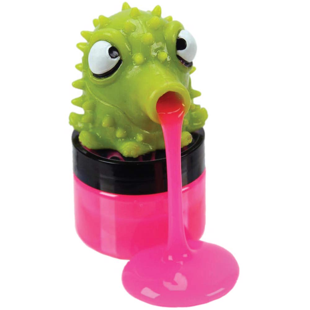 Slurps Slime Toy - Squishy, Squeezy, Slime Slurping Creatures - Assorted Colors and Styles