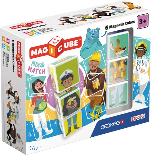 Magicube Mix & Match Puzzle (6pc)