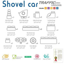 Load image into Gallery viewer, Traffic series - Shovel Car